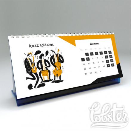 дизайн-макет для настольного календаря